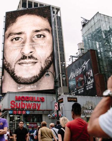 Nike 耐克争议运动员广告刺激电商销售增长翻倍 遭遇前员工集体诉讼