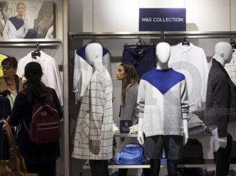马莎百货假日季服装跌幅超预期 英国圣诞零售金融危机以来最差
