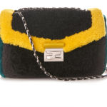 Fendi Be Baguette羊毛链条包