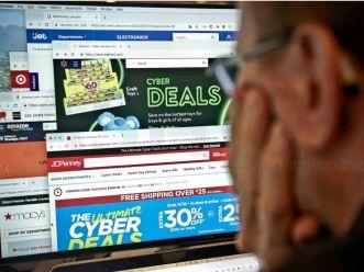 """美国""""网络星期一""""录得史上最高在线销售"""