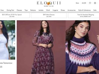 沃爾瑪收購加大碼服裝初創公司Eloquii