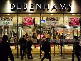 英国百货公司Debenhams三季度同店销售下滑0.2% 下调毛利率预期 股价急挫