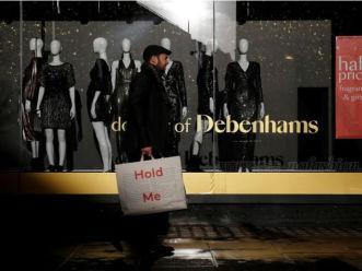 英国Debenhams百货假日季销售大跌6.2%